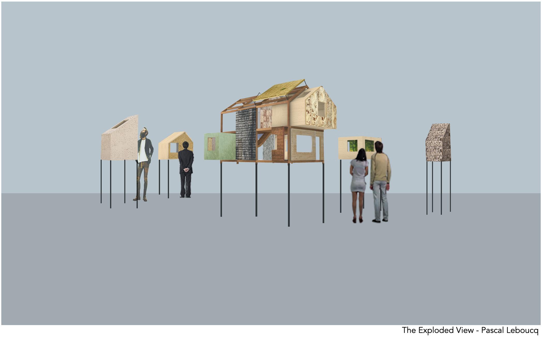 The exploded view expositie inspireert over stalen vliesgevelsystemen van Jansen by ODS